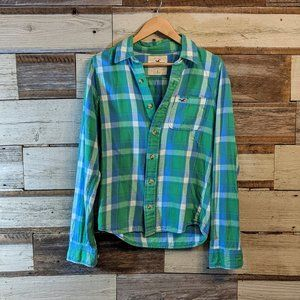 Hand Crafted Tops - Florida Georgia Line Upcycled Flannel Shirt OOAK